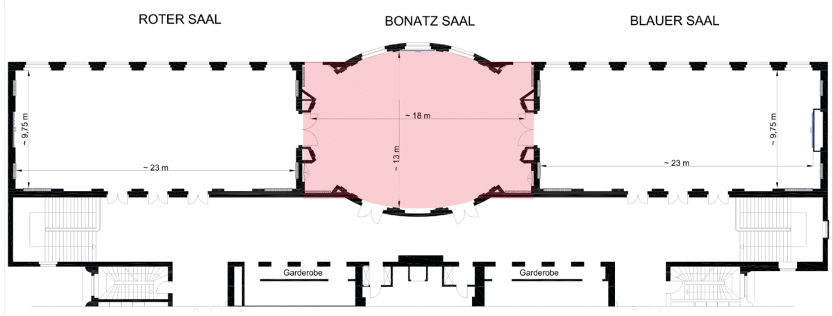 Bonatzsaal Hannover Congress Centrum