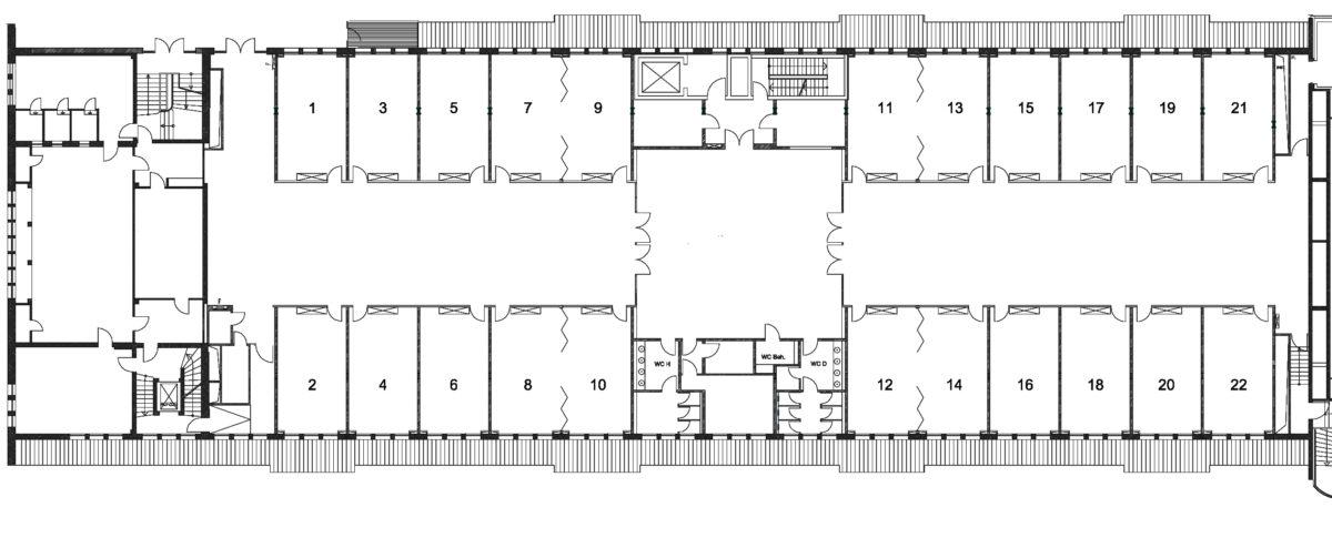 Raumübersicht 1 22 Hannover Congress Centrum